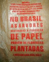 Papiersäcke nicht aus dem Urwald