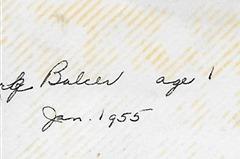 Baker Boy 1955 DL ant back