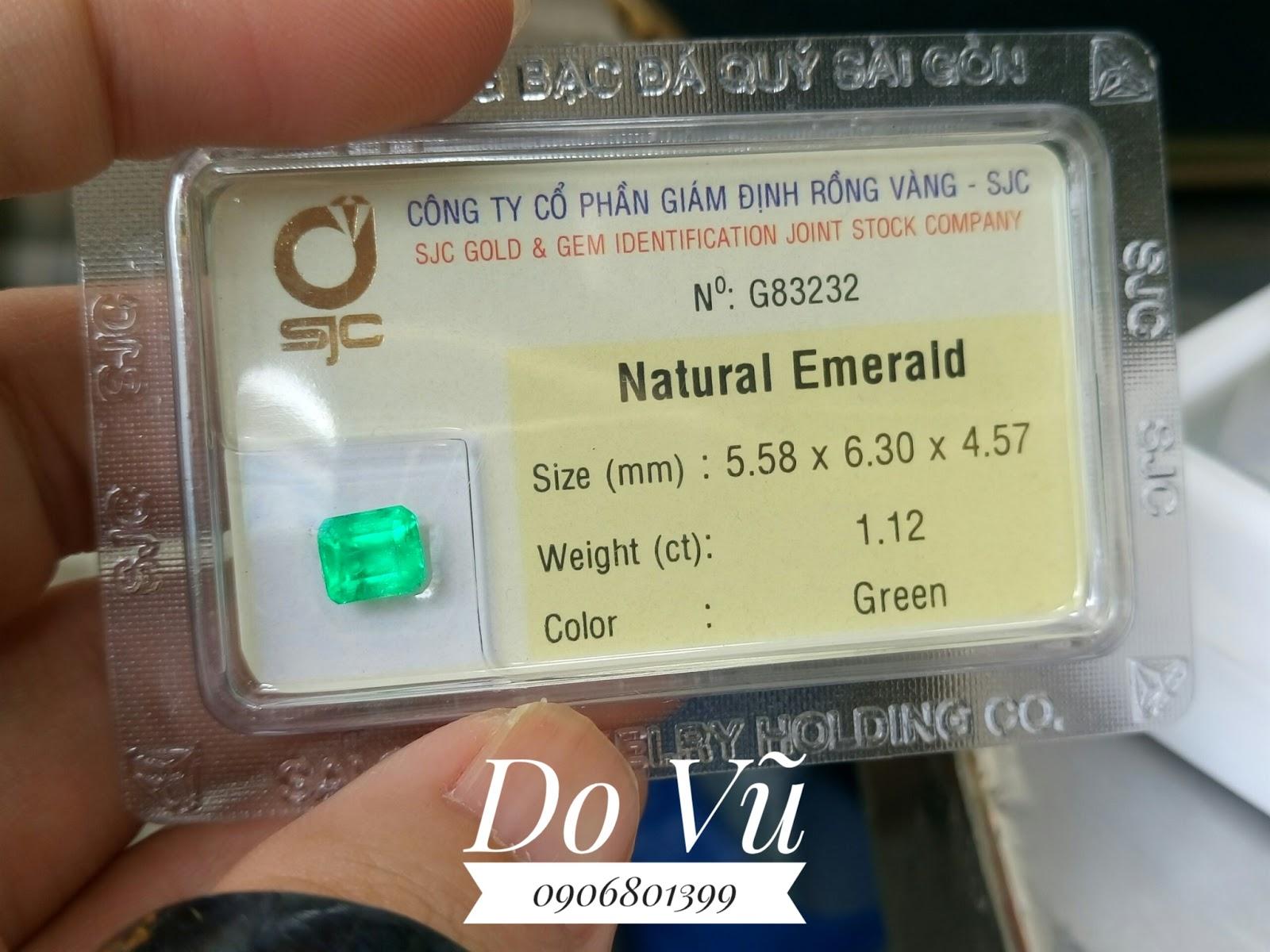 Đá quý Emerald, Ngọc Lục Bảo phong thủy Thạch Đạo