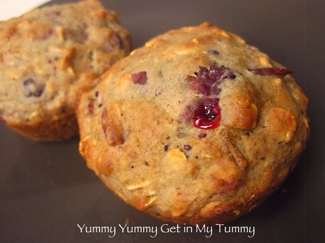 Yummy Yummy Get in My Tummy: Cranberry Muffins  Yummy Yummy Get...