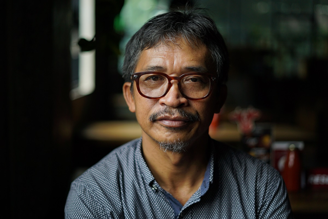 Abdon Nababan, one of Indonesia's foremost indigenous rights activists. Photo: Philip Jacobson / Mongabay