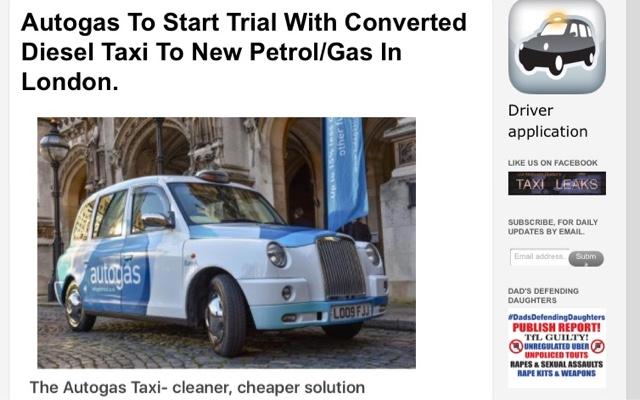 London Taxi TX4 New Fuel Tank