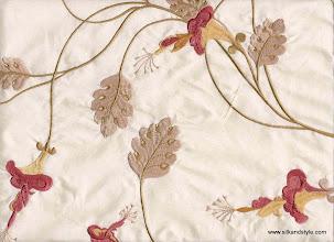 Photo: Mysore 10 - Felicity Series Embroidery - Cream