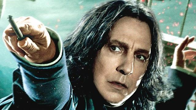 Por que Snape é a melhor parte de Harry Potter?