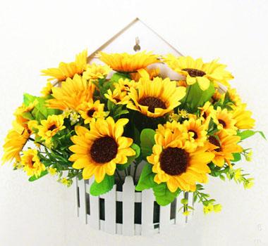 Happy Birthday Sunflower Bouquet Box - flower gifts