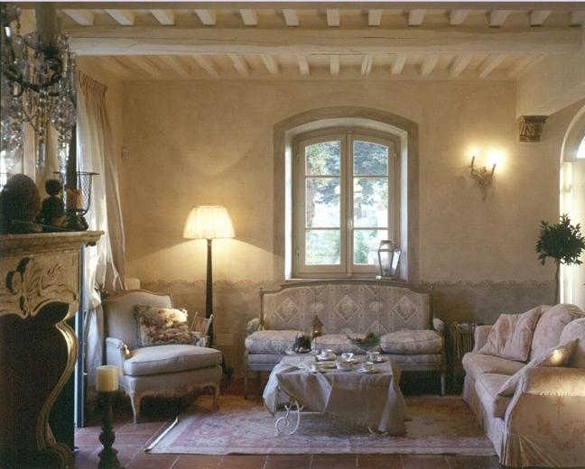 Amore per interni: in stile provenzale