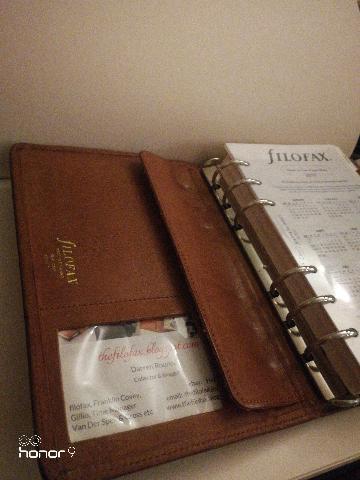 Filofax vintage 4BLCF personal