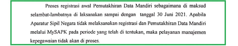 Cara Registrasi MY SAPK BKN
