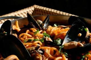 Μακαρονάδα του Ψαρά,Spaghetti Fisherman