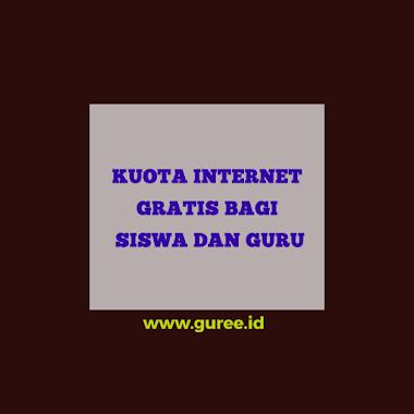 KEMENDIKBUD: SISWA DAN GURU MENDAPAT BANTUAN KUOTA INTERNET GRATIS MULAI SEPTEMBER 2020