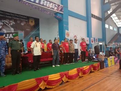 Buka Kejuaraan Karate, Ini Harapan Wawalikota Darmawan Jaya