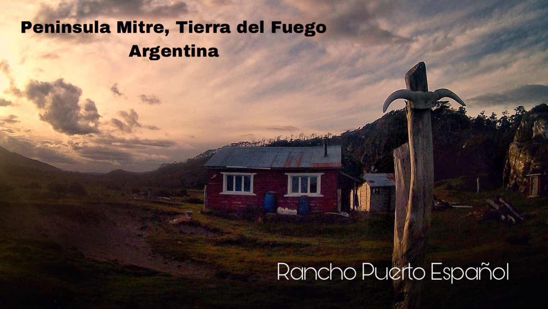 Rancho Puerto Español, Bahía Aguirre. Peninsula Mitre