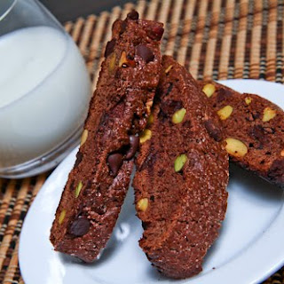 Chocolate Biscotti Without Butter Recipes.