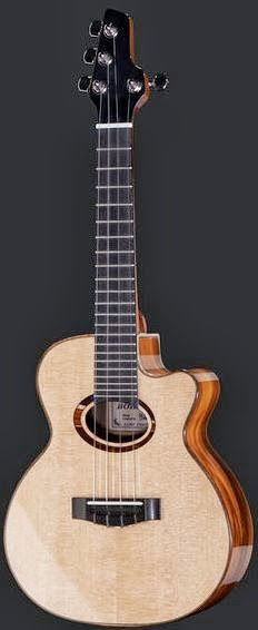 Thomann Bohemia Tenor, actually concert at Lardy's Ukulele Database