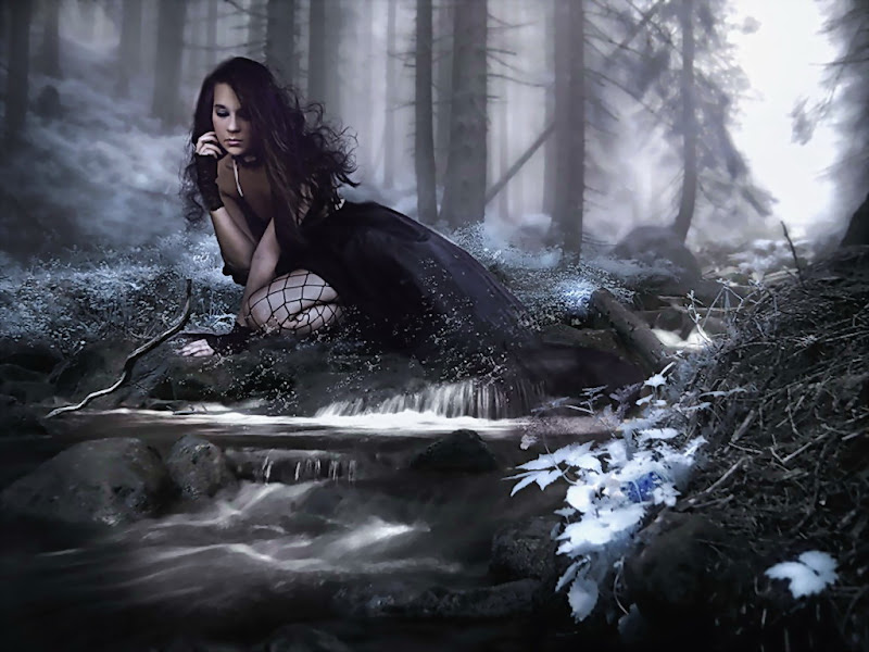 Dark Swamp Girl, Magic Beauties 2