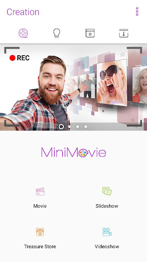 MiniMovie - Free Video and Slideshow Editor screenshot 1