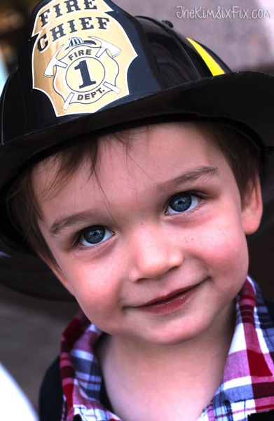 Baby fire chief