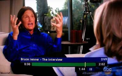 Bruce Jenner says he is asexual at 1:44 into ABC interview Apr. 24, 2015
