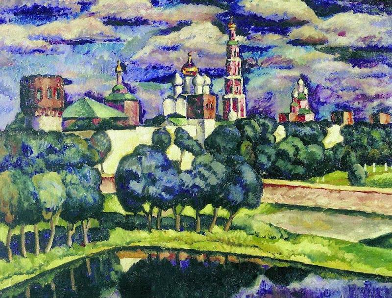 Ilya Mashkov - The Novodevichy Convent