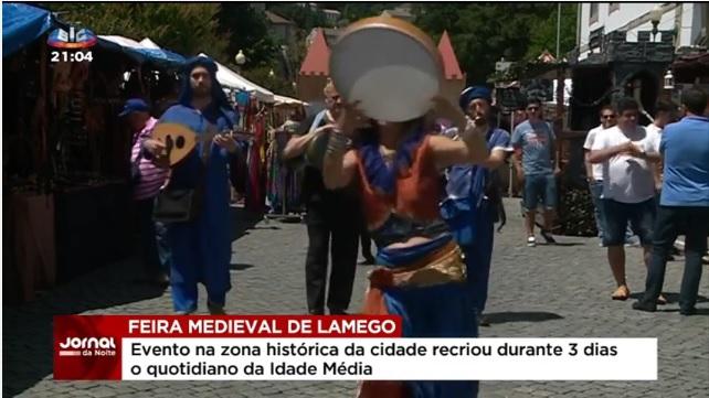 Vídeo - Feira medieval em Lamego leva visitantes à zona histórica da cidade