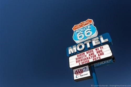 Route 66 Motel  Seligman Arizona