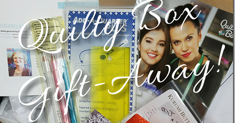 August Quilty Box Gift-Away!!