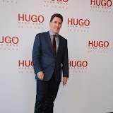 WWW.ENTSIMAGES.COM -   Rob Brydon attending  HUGO: RED NEVER FOLLOWS - private view / party of exhibition to celebrate 20th anniversary of Hugo Boss, featuring the brand's RED NEVER FOLLOWS project which saw it collaborate with 20 'urban creatives' from around the world July 30th 2013                                                     Photo Mobis Photos/OIC 0203 174 1069