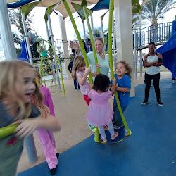 Playing at Mesa Riverview Park