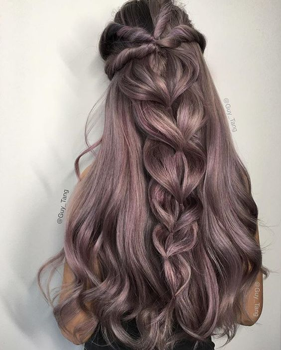 long hair -A collection of ideas for braided hair In 2017 1