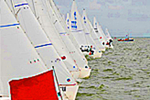 J/22s one-design racing sailboat- racing Germany and Netherlands