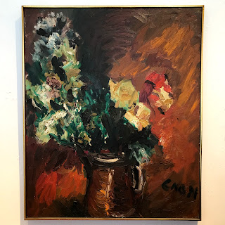 Simon Gaon Signed Expressionist Oil