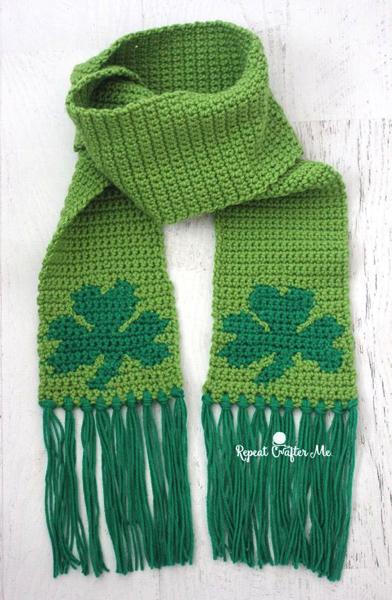 shamrock scarf