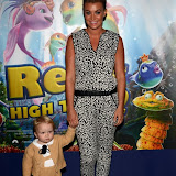 WWW.ENTSIMAGES.COM -  Billi Mucklow   arriving at       The Reef 2: High Tide - VIP film screening at The Soho Hotel, 4 Richmond Mews, London October 20th 2013                                                 Photo Mobis Photos/OIC 0203 174 1069
