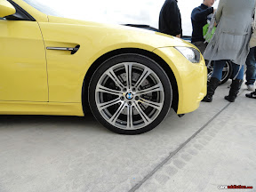 Yellow Bmw M3 E92