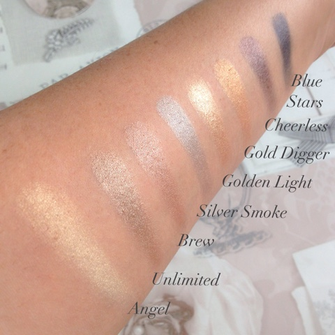 Flawless-eyeshadow-palette-swatches
