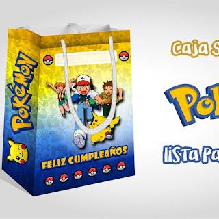 Bolsa Sorpresa de Pokemon – Imprimibles Gratis!