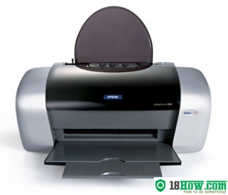 How to reset flashing lights for Epson C83 printer