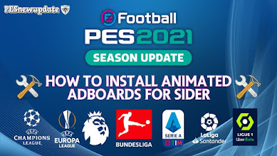 PES 2021 New Animated Adboards Pack 2020/21 by Predator002