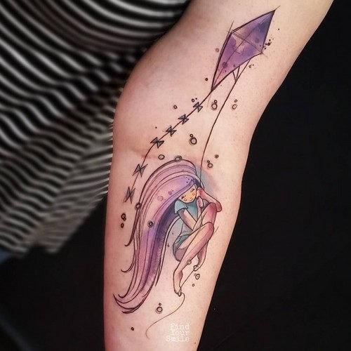 este_encantador_aquarela_tatuagem