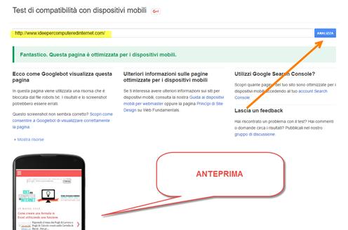 text-compatibilità-google