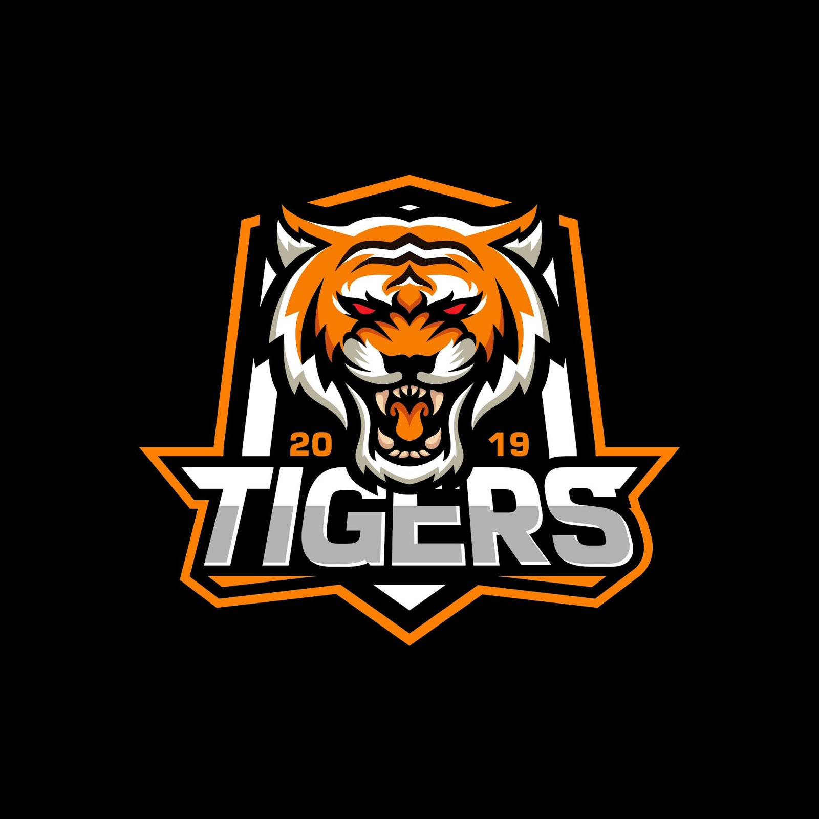 Roaring Tiger Logo Free Download Vector CDR, AI, EPS and PNG Formats