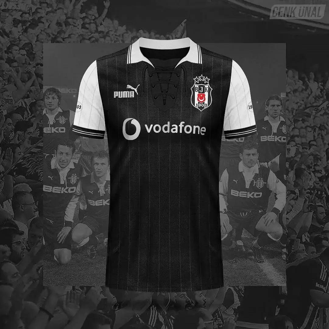 Bocoran Jersey Besiktas 2020/2021 Home Away Third Puma & Adidas Konsep