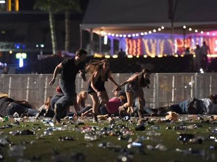 Las Vegas shooting becomes deadliest in US history as death toll hits 55