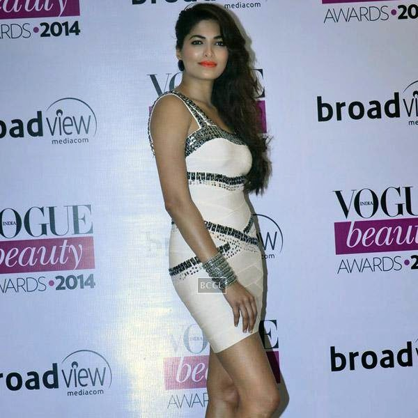 Miss India 2008 Parvathy Omanakuttan at Vogue Beauty Awards 2014, held at Hotel Taj Lands End in Mumbai, on July 22, 2014.(Pic: Viral Bhayani)