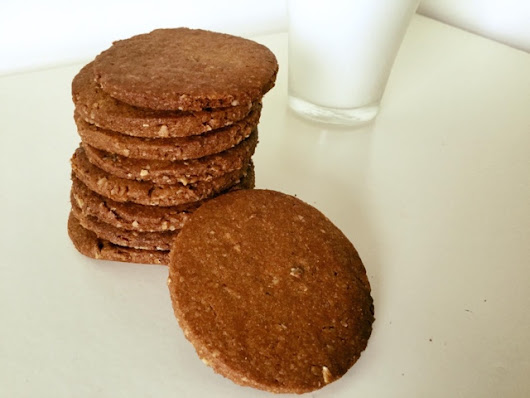 Homemade Easy Digestive Biscuits/ Crackers