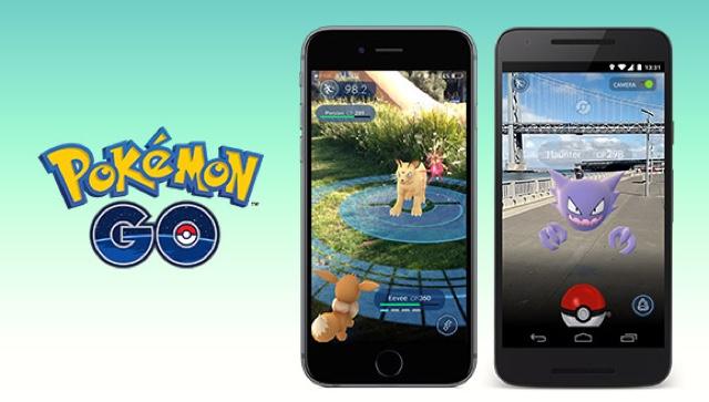 البحث عن البوكيمون في لعبة pokemon go