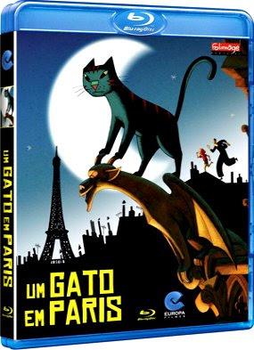 Filme Poster Um Gato em Paris BDRip XviD Dual Audio & RMVB Dublado