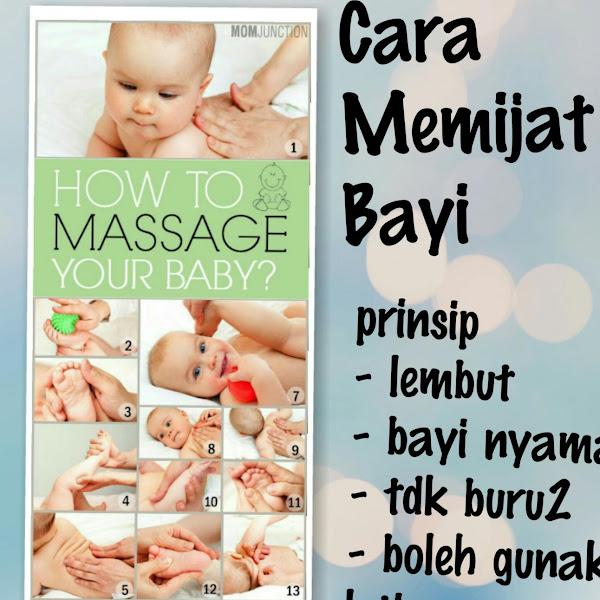 Cara dan Prinsip Memijat Bayi