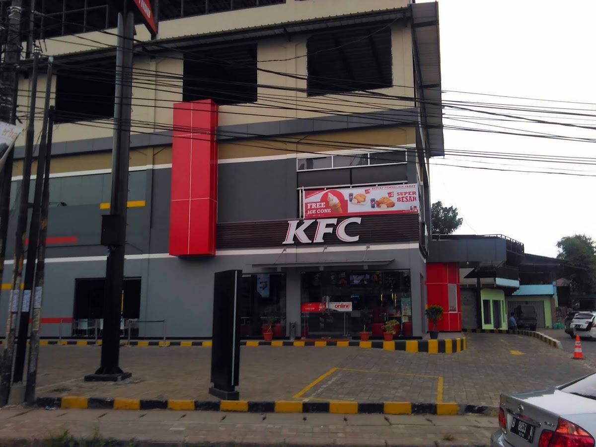 KFC Drive-Thru, Ex-KFC Petronas, Cimanggis, Kota Depok