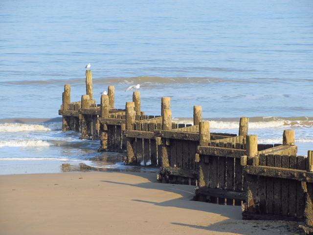 zig-zag sea wall